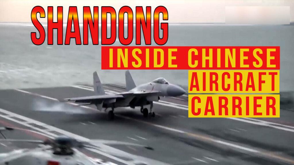 shandong aircraft carrier- china