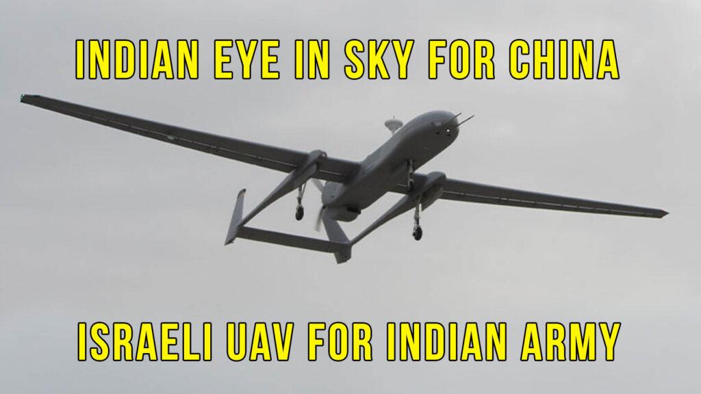 Heron Mk-II UAV Indian Army
