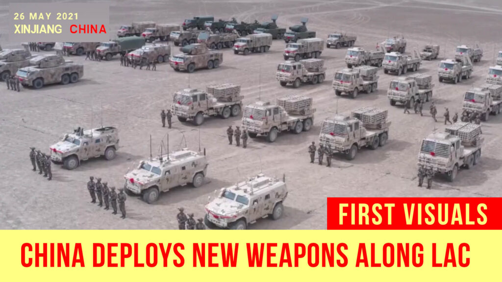 Amid Paused Disengagement, China Deploys New Weapons Along LAC