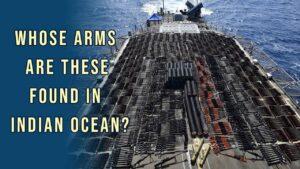 Arms Cargo caught