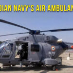 Indian Navy Gets ALH Helicopter Air Ambulance