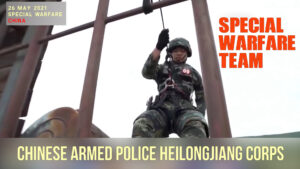 chinese special warfare team