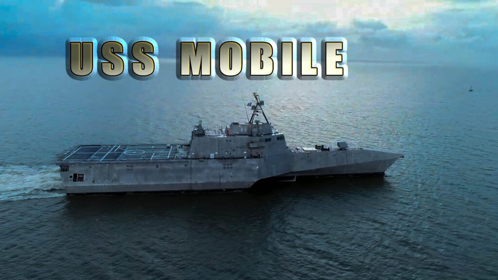 USS Mobile commissioning