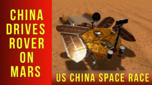 chinese rover zhurong drives on mars