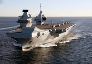 HMS QUEEN ELIZBETH TO PARTICIPATE IN EXERCISE KONKAN SHAKTI 2021