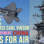 F- 35C Fighter Jet Aboard USS Carl Vinson — First Ever Deployment