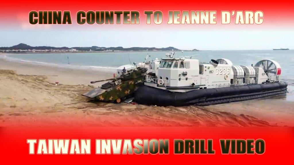 taiwan invasion video