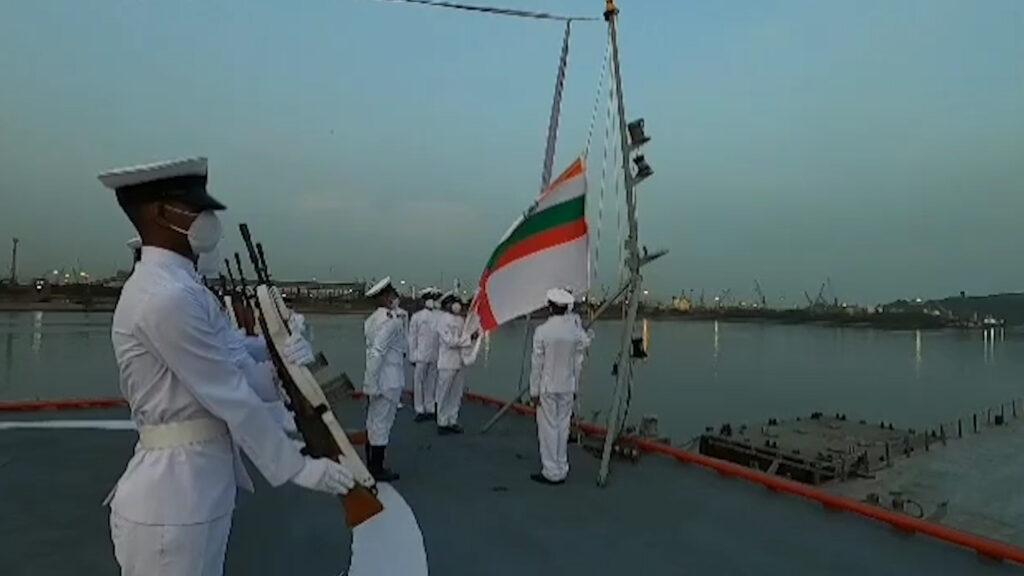 INS Rajput Decommissioning at Naval Dockyard, Visakhapatnam | Video #INSRajput, #IndianNavy