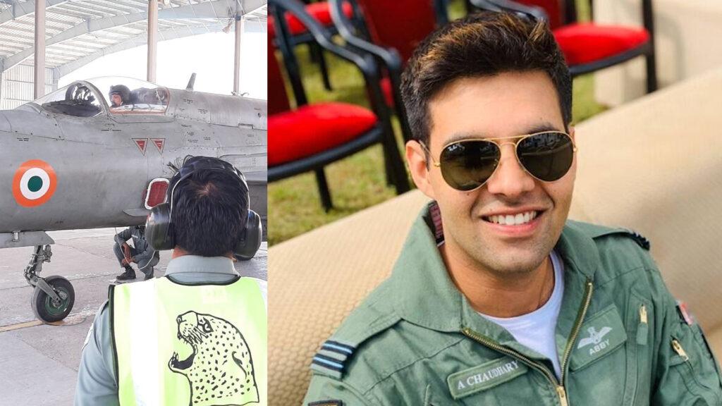 IAF chief flies missing man formation