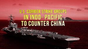 US carrier strike groups